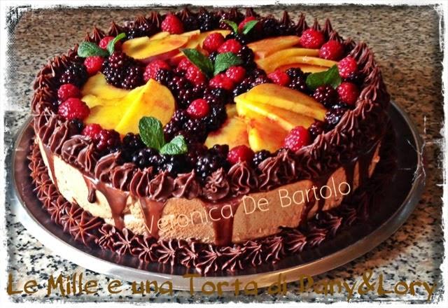 cheesecake choco-ruspberry