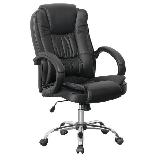 office chair leather swivel recline rocker computer desk furniture