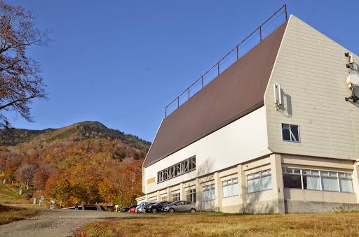和田小屋の向かいにあるゴンドラ降り場