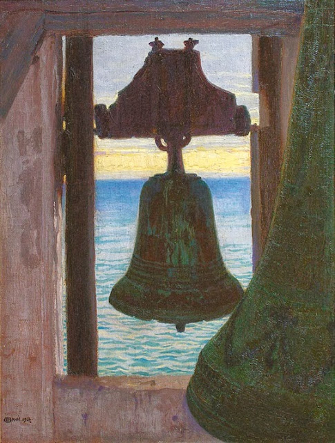 Edward Okun - Bell tower by the sea