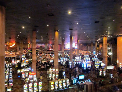 NewyorkNewyork casino hotel gambling floor vegas photo