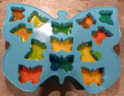 crayons+2 Butterfly Up-Cycled Crayons {Kid Craft} 13