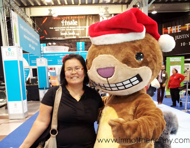 Thien-Kim & Scaredy Squirrel at Book Expo America