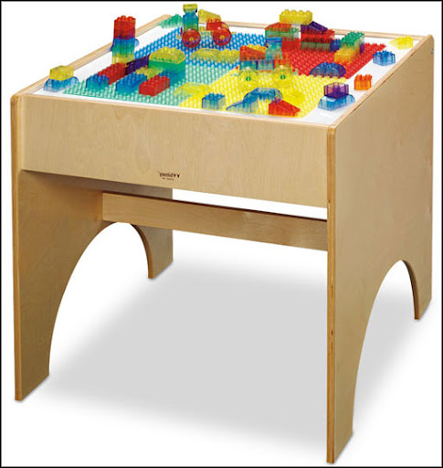 colorful kids light table