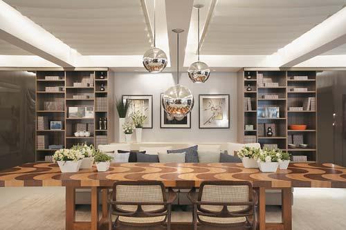 Altura Do Lustre Da Sala De Estar ~ BACCARI INTERIOR DESIGN Lustre na sala de jantar sabe escolher o seu