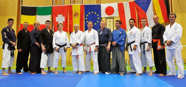 Maestros del VI Budo Camp Wieselburg 2013