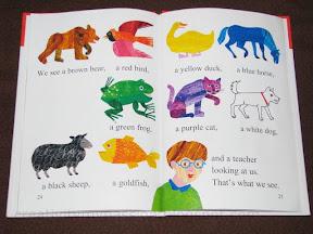 brown bear book activities