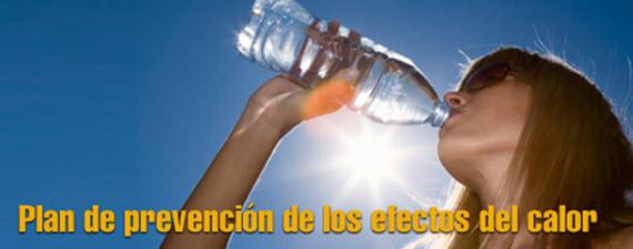 Plan de prevención frente a los efectos del calor