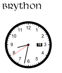Brython o reemplazando Javascript con Python