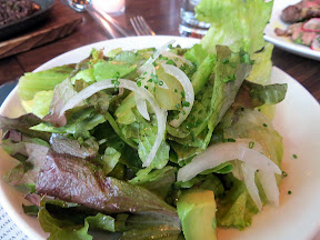 Ox restaurant Green Salad