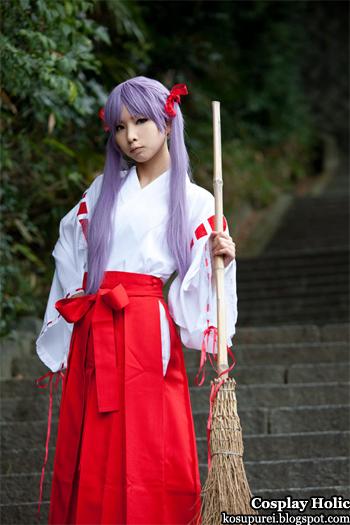 lucky star cosplay - hiiragi kagami 02 by kanda midori