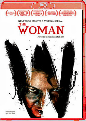 Filme Poster The Woman - Nem Todo Monstro Vive na Selva BDRip XviD Dual Audio & RMVB Dublado
