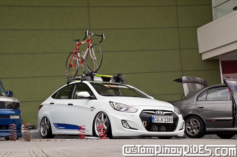 Hyundai Accent on Air Suspension Custom Pinoy Rides Car Photography Manila Philippines pic2