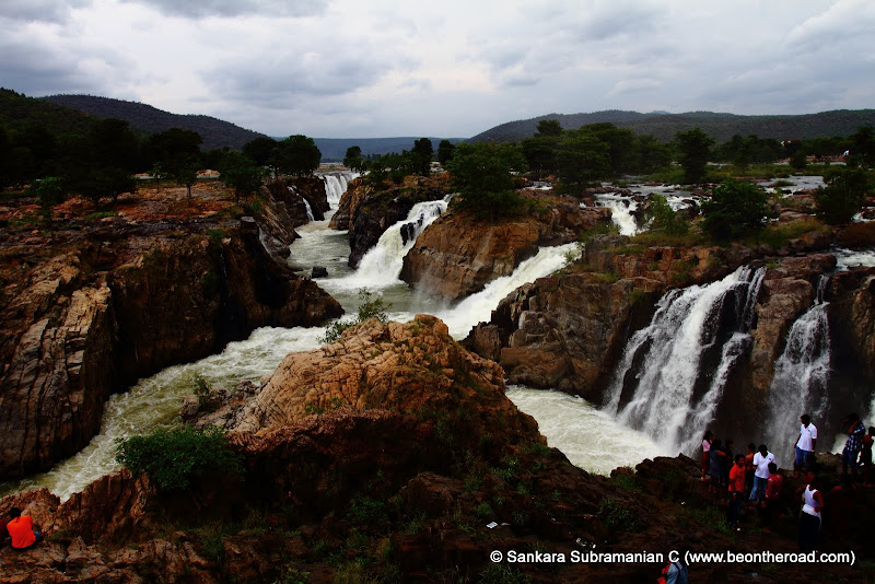 One of the widest waterfall series in India
