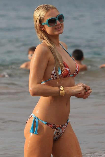PARIS HILTON HACKED ACCOUNT VICTIM HOT SEXY BIKINI PICS PHOTOS
