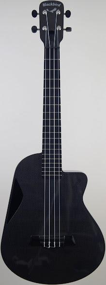 Blackbird Carbon Fibre Tenor Ukulele Corner