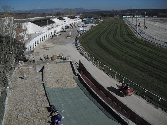 Restauración y rehabilitación del recinto de carreras del Hipódromo de La Zarzuela