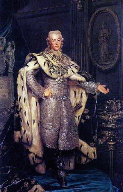 Alexander Roslin - Portrait of Gustavus III of Sweden