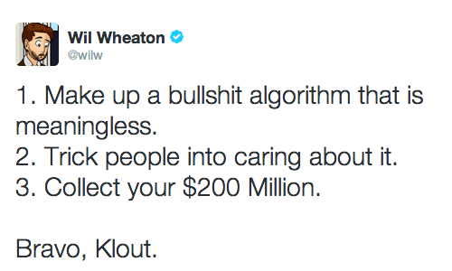 @wilw about this Klout Dingsbums