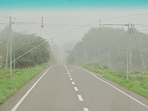 阿寒バス「釧路羅臼線」 車窓 その1