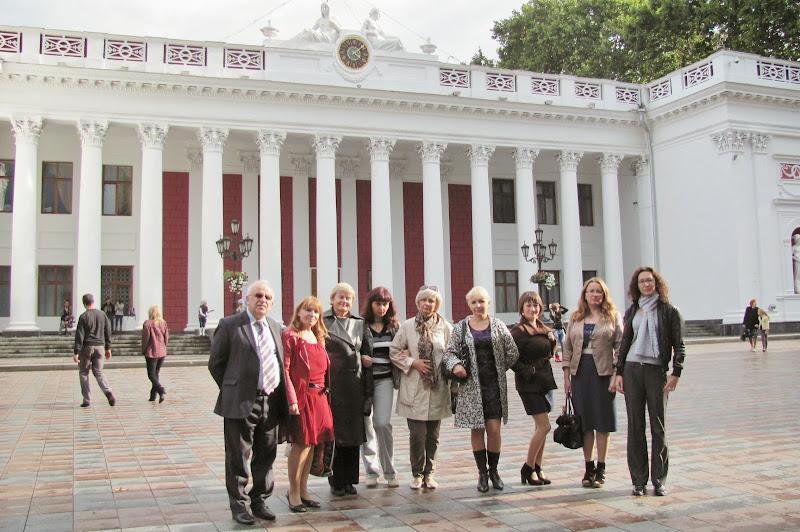 Учасники конференції на екскурсії в м.Одесі
