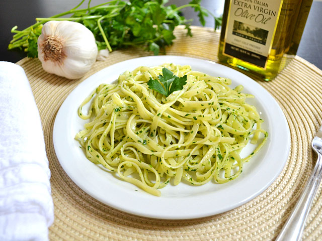 Lemon parsley pasta recipes