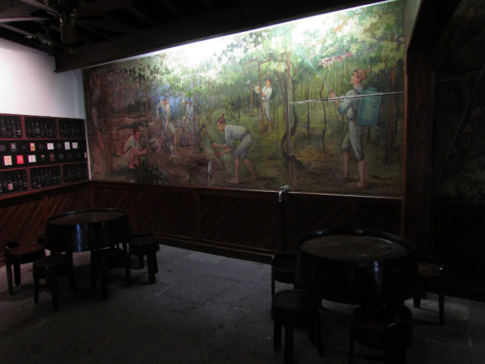 Max Romer paint in Madeira Wine wineries