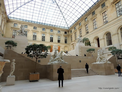 Louvre - Cour Marly