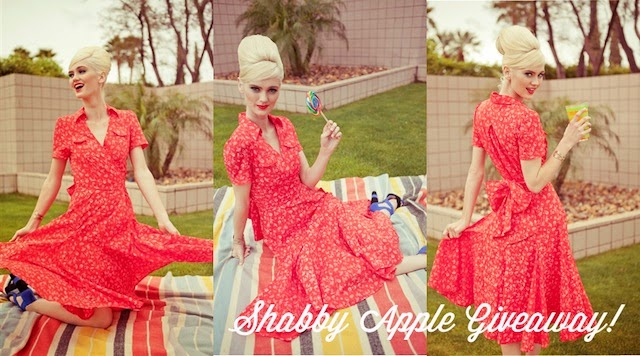 the flower shop heart of me dress giveaway from shabby apple