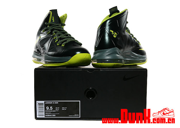 Detailed Look at Nike LeBron X Dunkman Slated For November