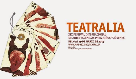 Teatralia 2015, Festival Internacional de Artes Escénicas para Niños y Jóvenes