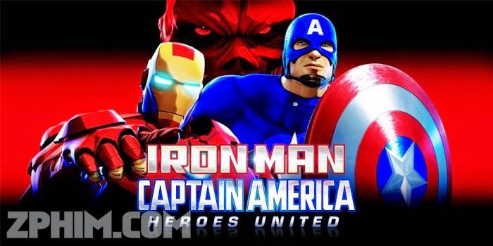 Ảnh trong phim Người Sắt Và Đại Úy Mỹ: Anh Hùng Hội Tụ - Iron Man and Captain America: Heroes United 1