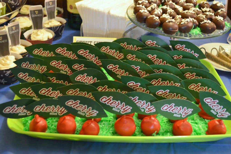 cherry bomb cake pops