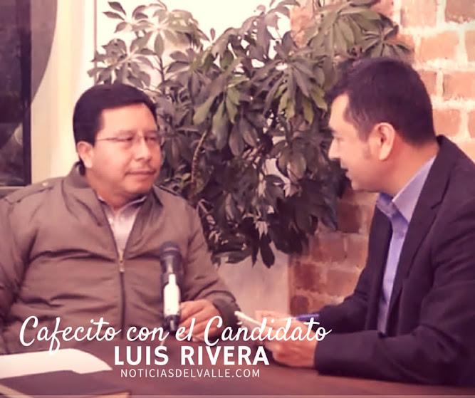 Cafecito con el Candidato - Luis Rivera del Partido Patriota
