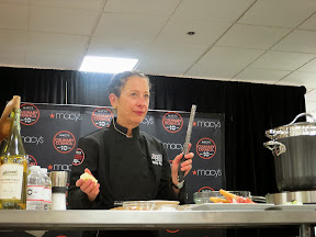 Culinary Council Recap: Nancy Silverton, Culinary Council member at the Macy's at Washington Square Dec 14, 2013, is a big fan of the microplane