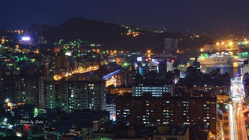 基隆 獅球嶺砲台 夜景