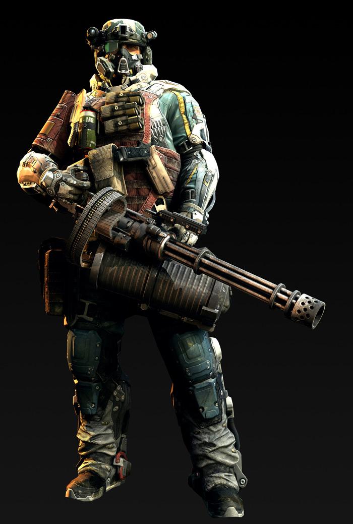 Tạo hình nhân vật trong Metro Conflict - Ảnh 9