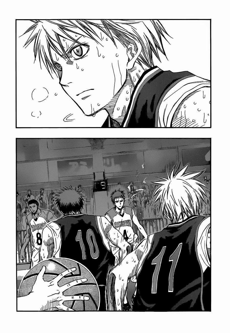 Kuroko no Basket Manga Chapter 262 - Image 02