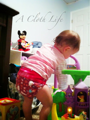 Jelly Bear Boutique fitted cloth diaper review