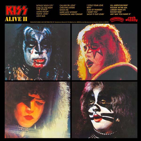 Metalword Kiss Alive Ii 1977