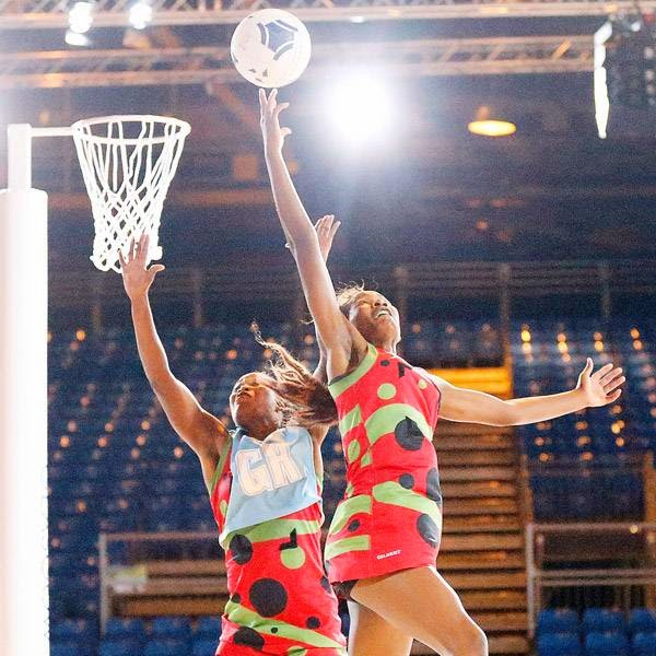 Players of Malawi practice netball one day before the opening of the Commonwealth Games 2014 in Glasgow, Scotland, Tuesday July 22, 2014.