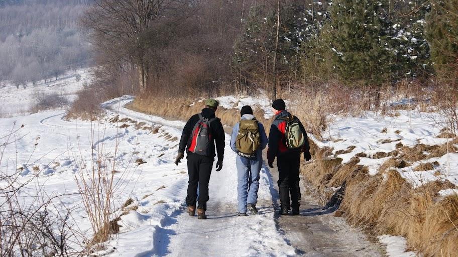 Zimowa wyprawa na Leskowiec