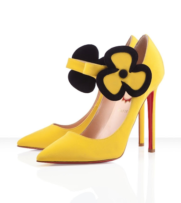 Christian Louboutin Pensee 120mm Yellow