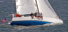J/111 one-design offshore racing sailboat- sailing Newport