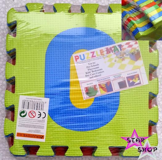 Alfombra puzzle eva goma espuma ni os juego juguete - Alfombras puzzle infantiles ...