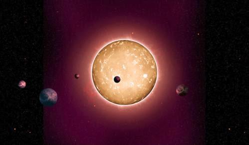 Astronomers Discover A Replica Solar System