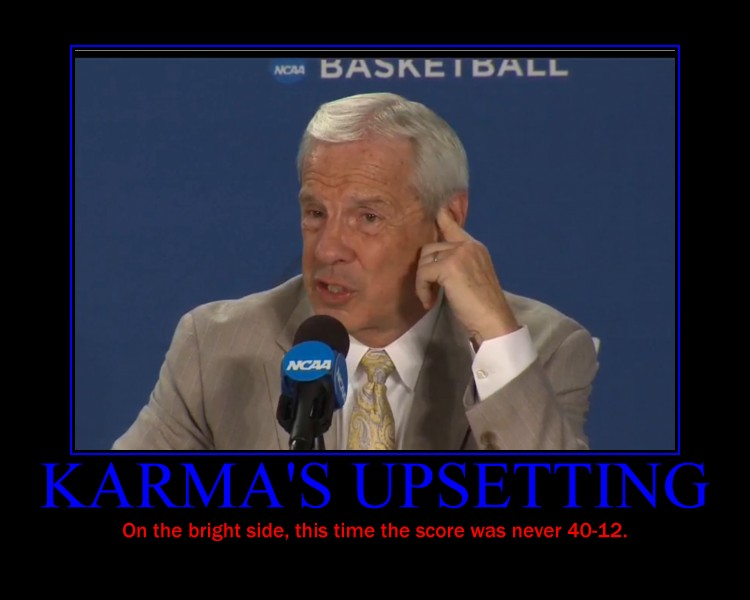 Roy Williams after Kansas game