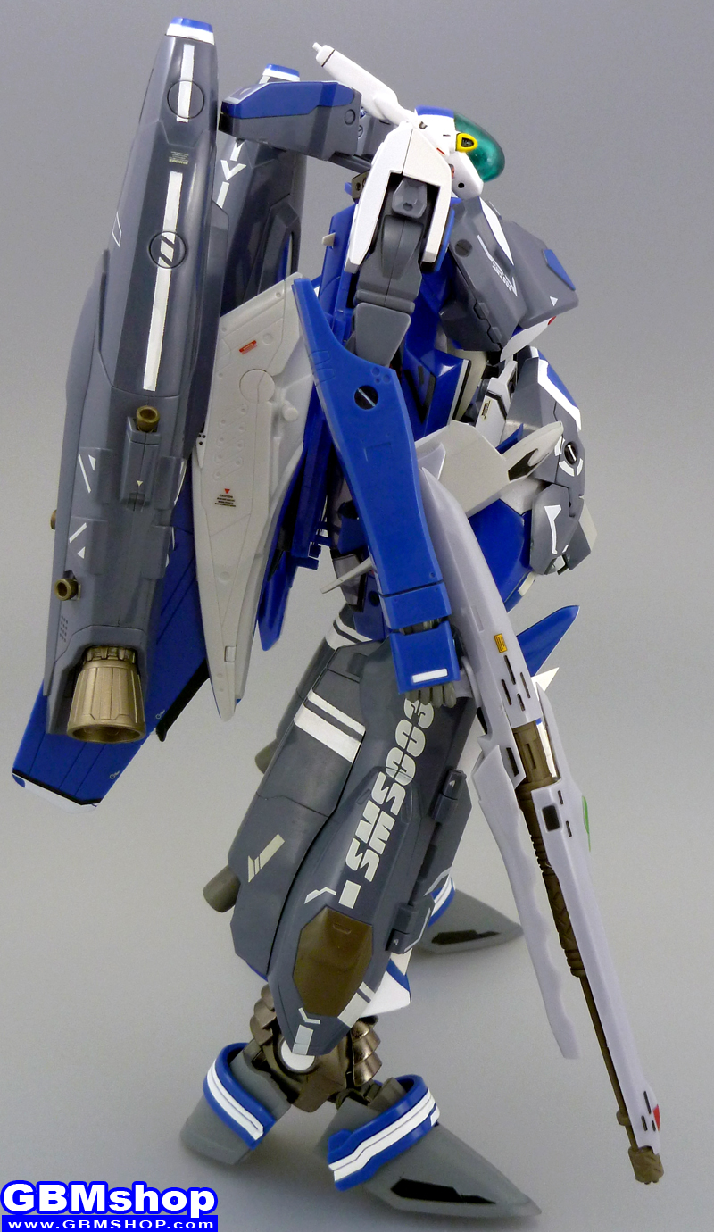 Macross Frontier YF-25 Prophecy with FAST Pack Michael Blanc custom Battroid Mode
