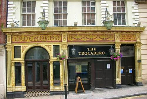 Ghosts At The Trocadero Pub Birmingham