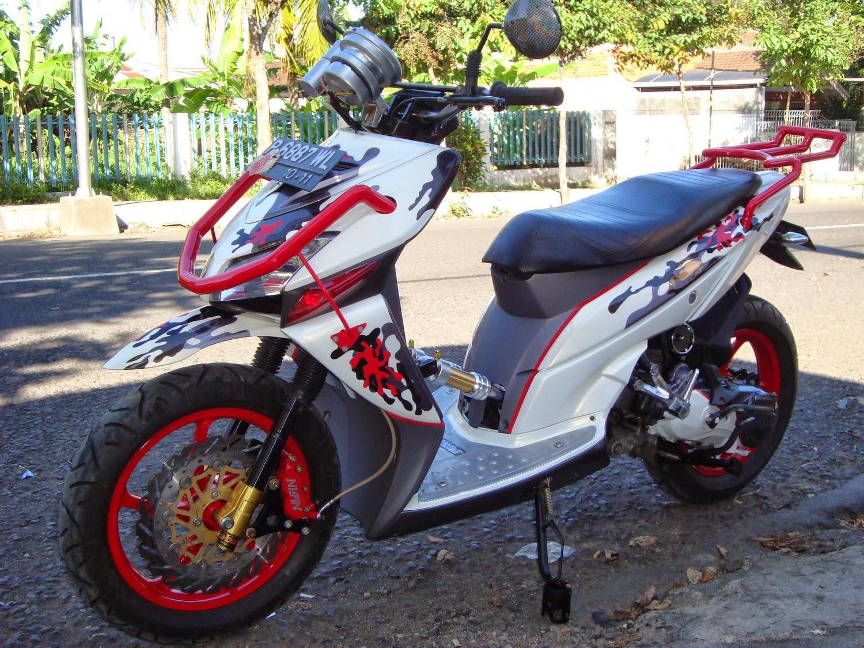 Honda Vario Modifikasi Minimalis